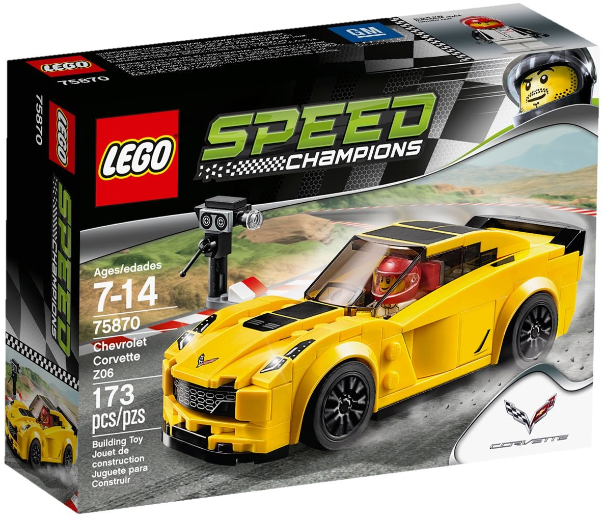 LEGO 75870 - Speed Champions - Chevrolet Corvette Z06