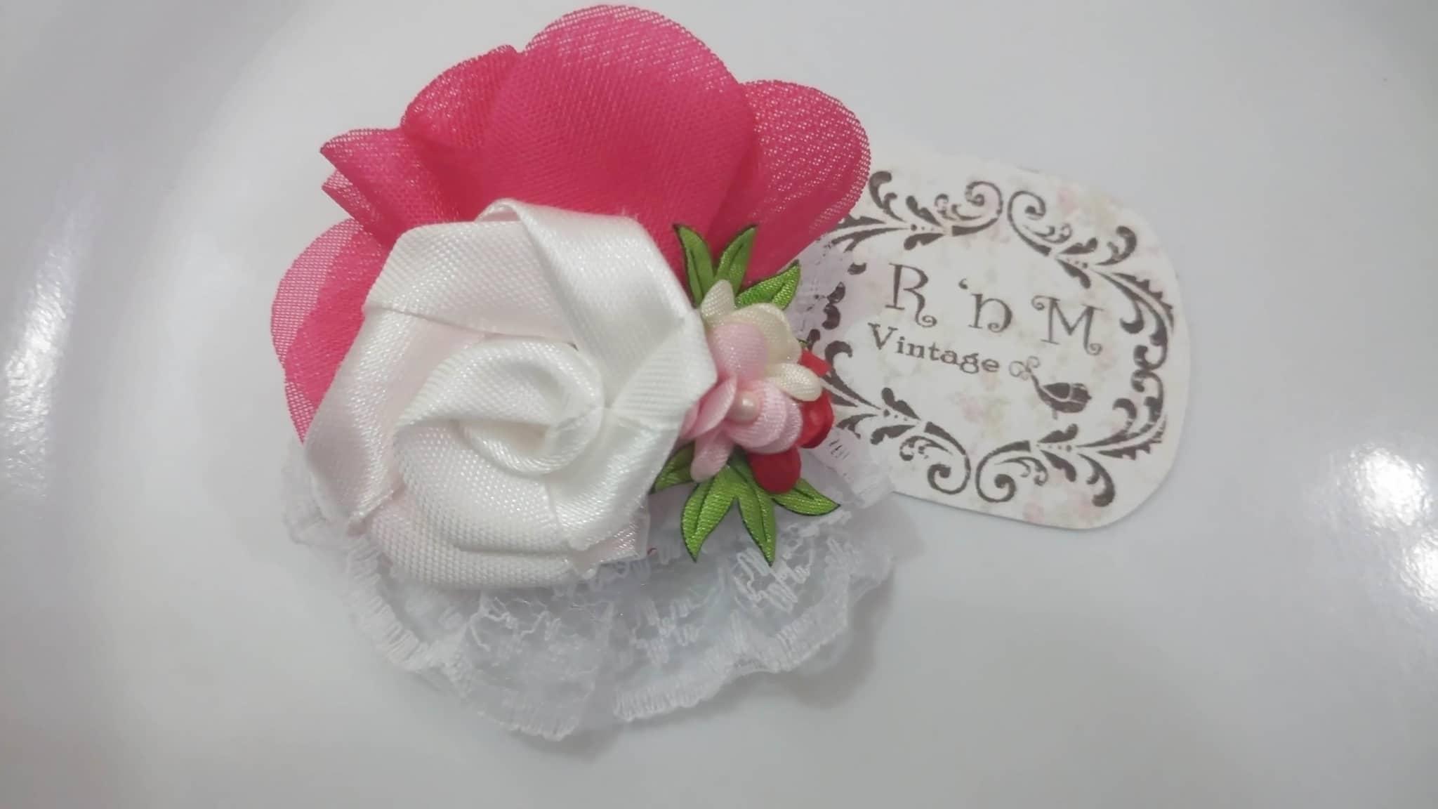 souvenir bros jilbab aksesoris brooch hijab accessories bunga murah
