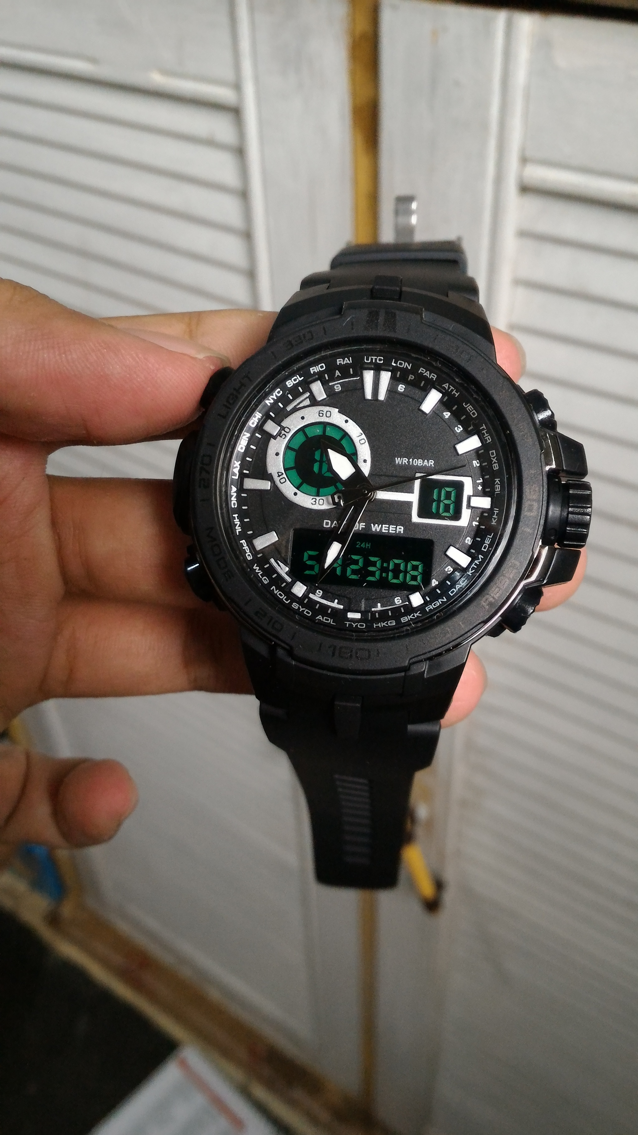 G-shock Protrek PRW6000 hitam