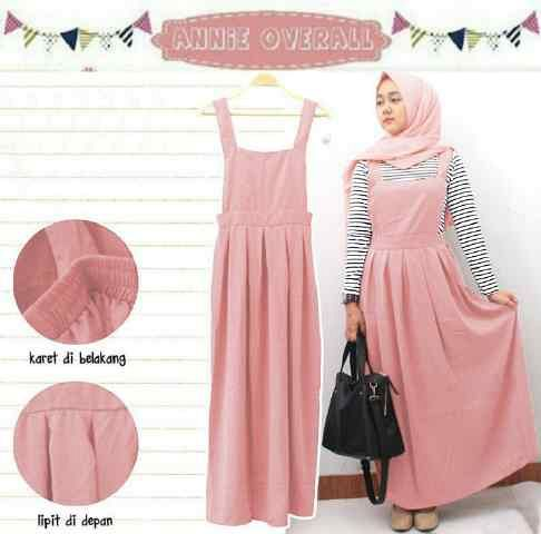 Overall Hijab Murah - Annie Overall