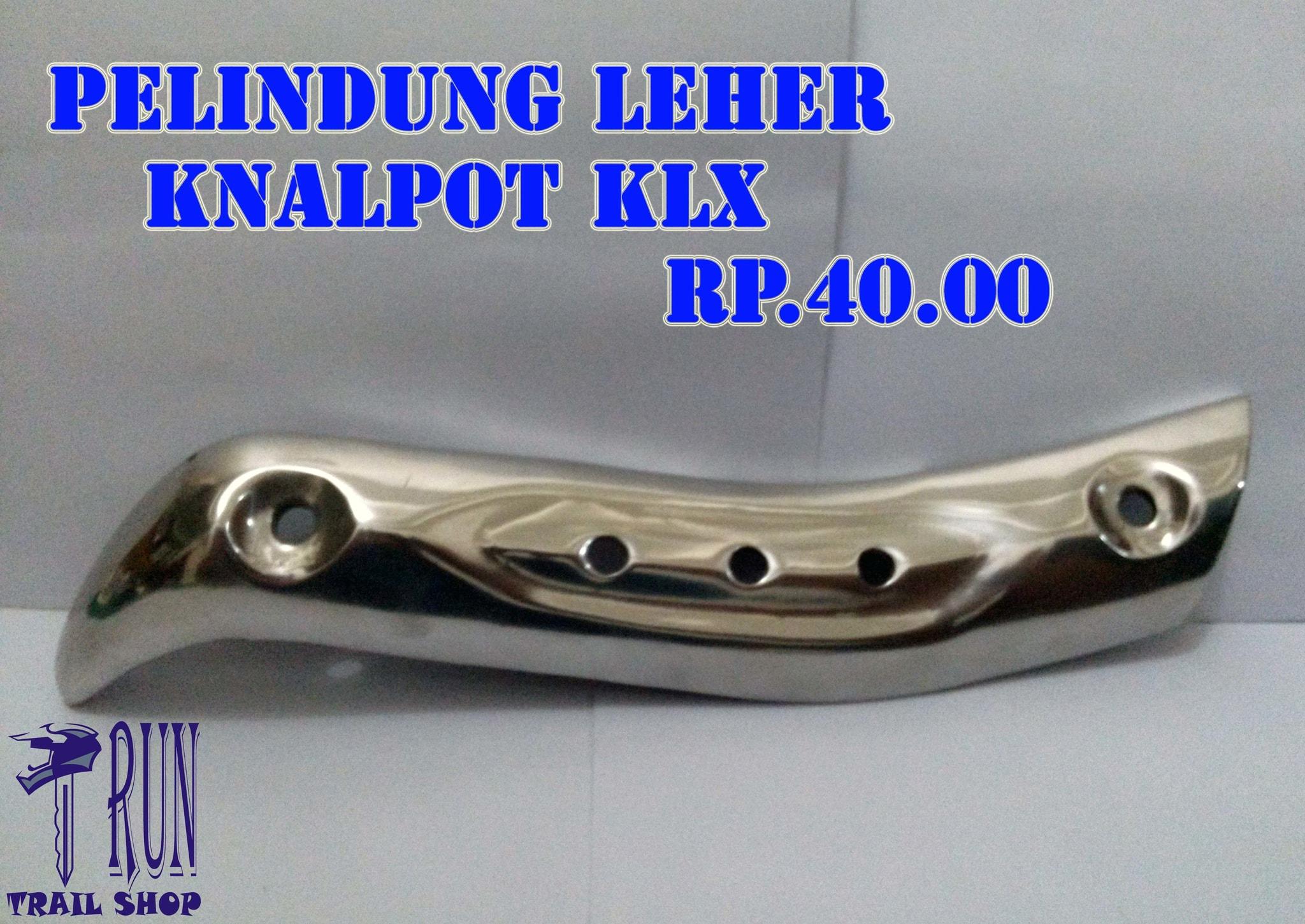 Jual Pelindung Leher Knalpot Motor Kawasaki KLX Alumunium