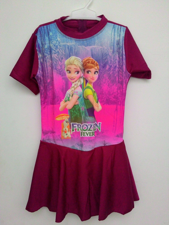 Baju Anak Frozen