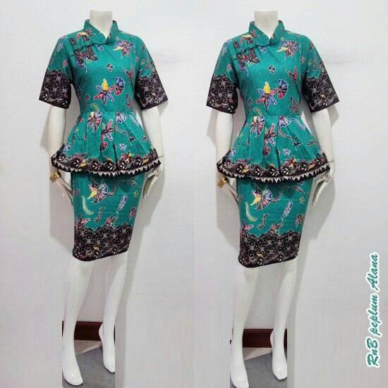 Baju Paplum Untuk Di Jual Jual Rnb Peplum Alana Baju Batik