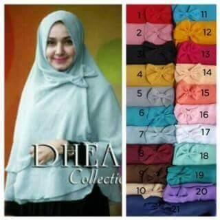 hijab syari/ kerudung/ jilbab/ oki pita