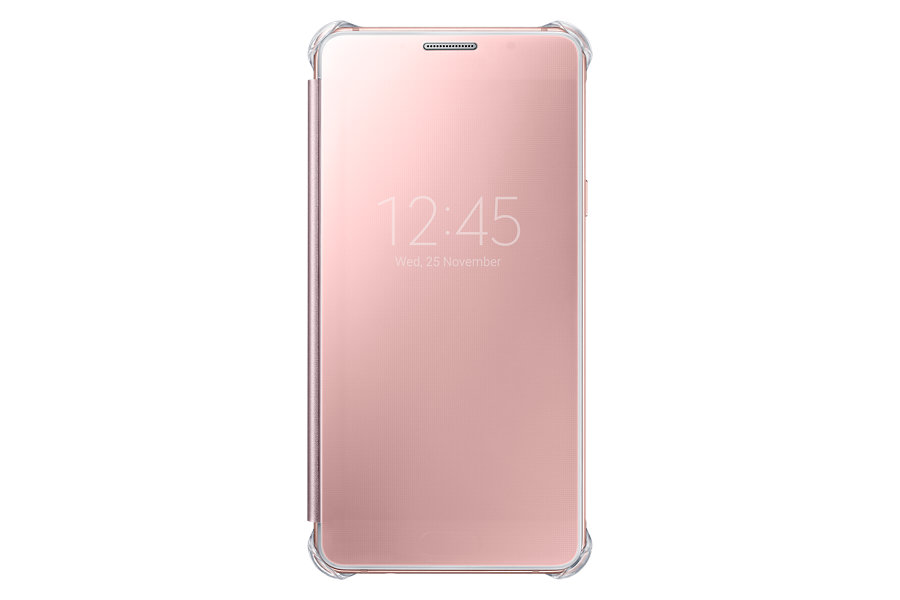 Samsung Clear View Window Flip Cover For Samsung A7 2016 Edition - Ros