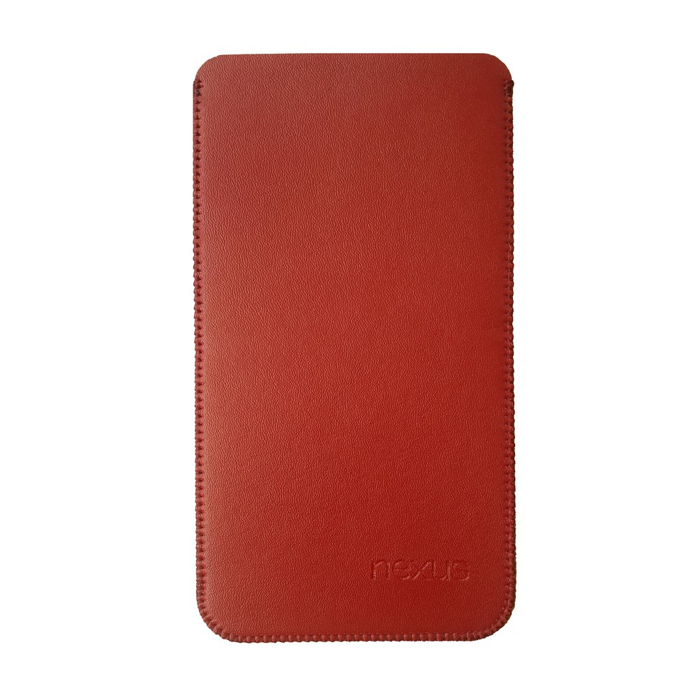 Primary Original LG Nexus 5X Leather Pouch RED