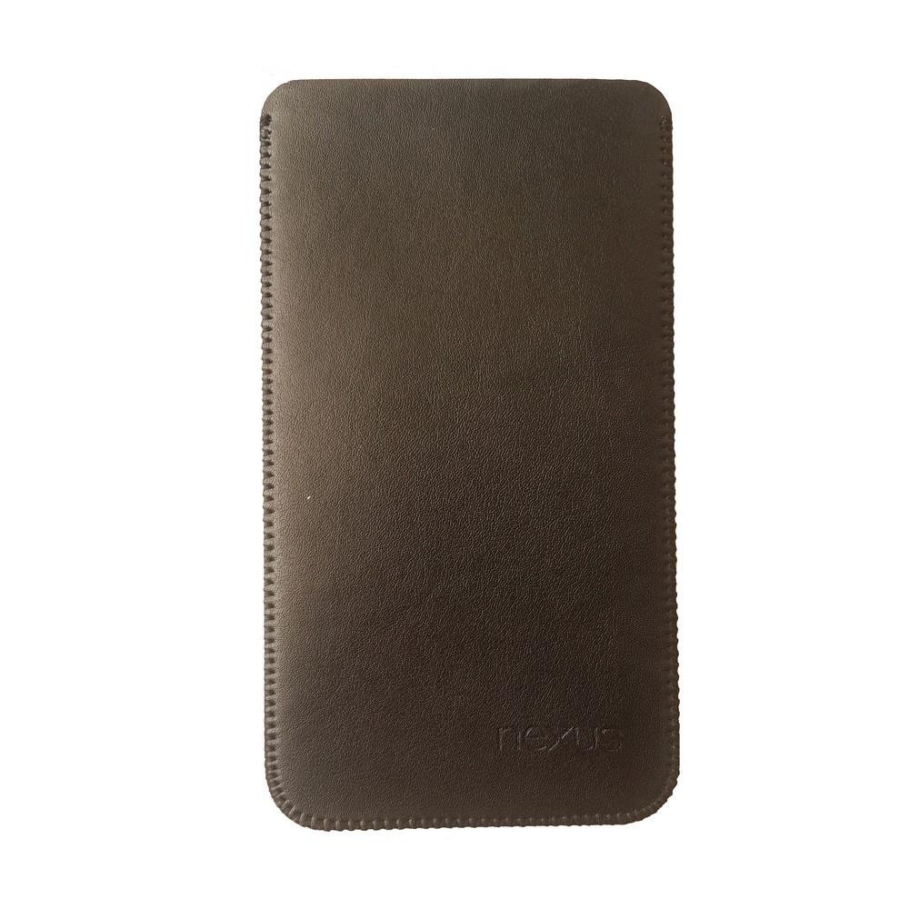 Primary Original LG Nexus 5X Leather Pouch BLACK