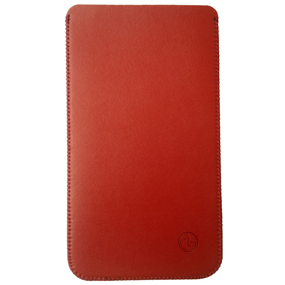 Primary Original LG V10 Leather Pouch RED