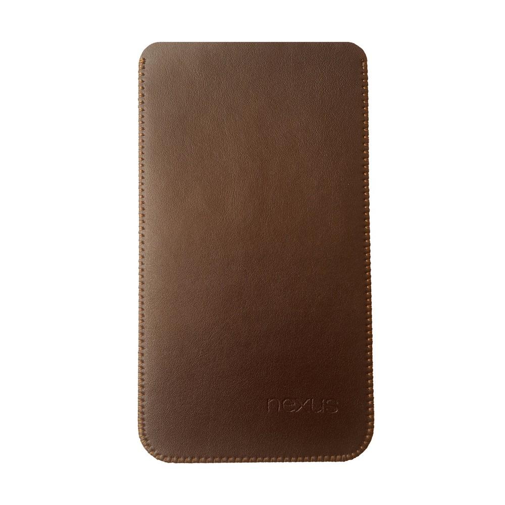 Primary Original LG Nexus 5X Leather Pouch BROWN