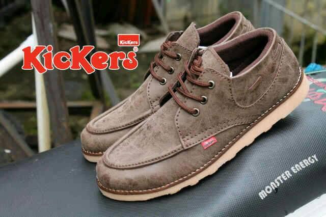 Jual Sepatu Pria Kickers Zapato Brown / coklat Murah