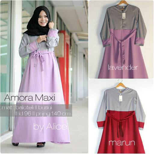 SUPPLIER HIJAB : AMORA MAXI BY ALICE