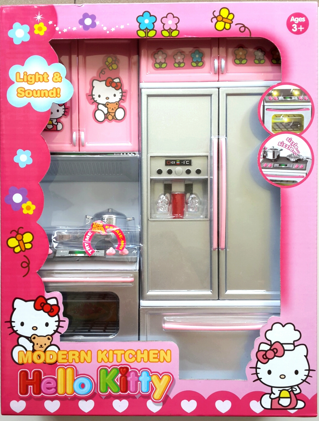 Jual Kitchen Set Mainan Anak Masak2an Dapur Hello Kitty