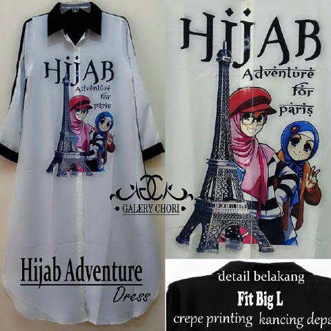 Hijab adventure paris