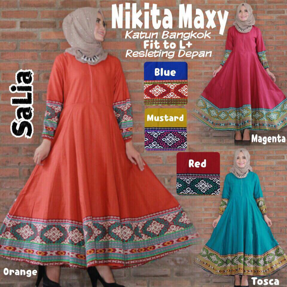SUPPLIER HIJAB : NIKITA MAXY BY SALIA