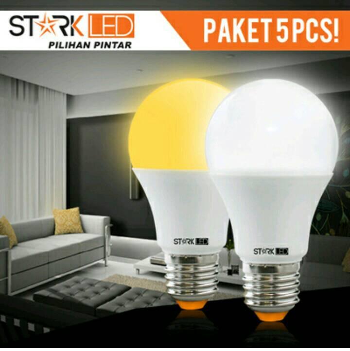 Jual Lampu Led Stark Omni cool daylight 15watt Paket 5 pics fabragus fact .