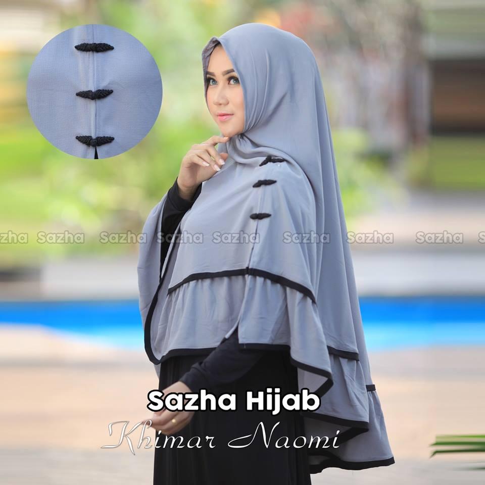 KHIMAR NAOMI by Sazha Hijab