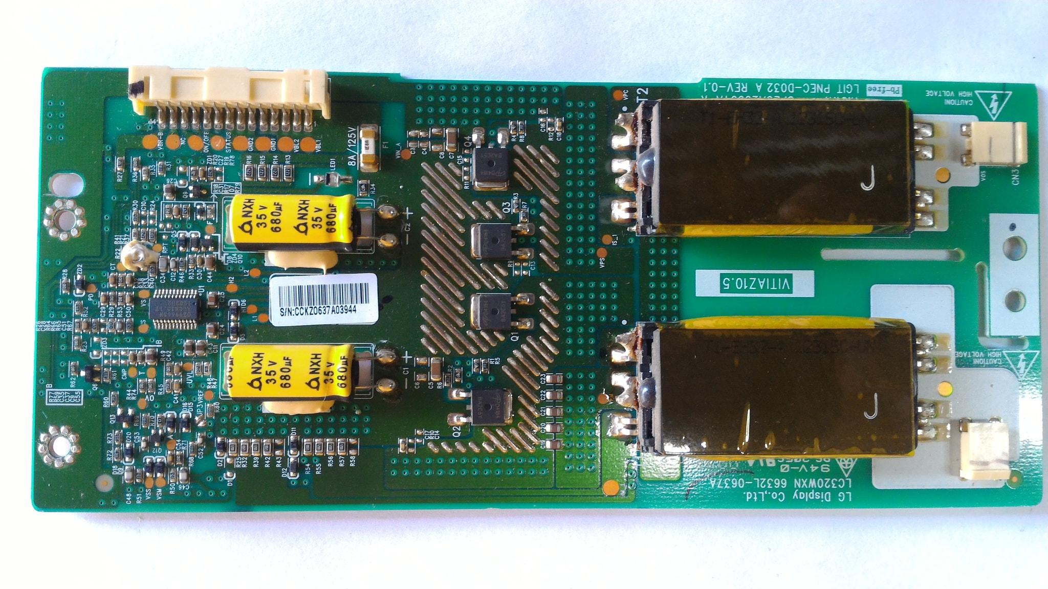 tv backlight inverter board. jual backlight inverter board lcd lg 32lk311- 32cs410 - esc99   tokopedia tv board