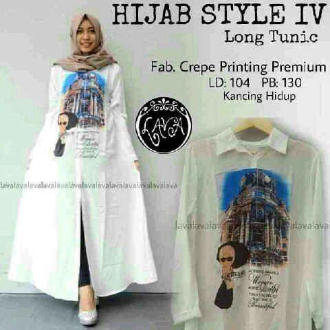 Hijab style IV