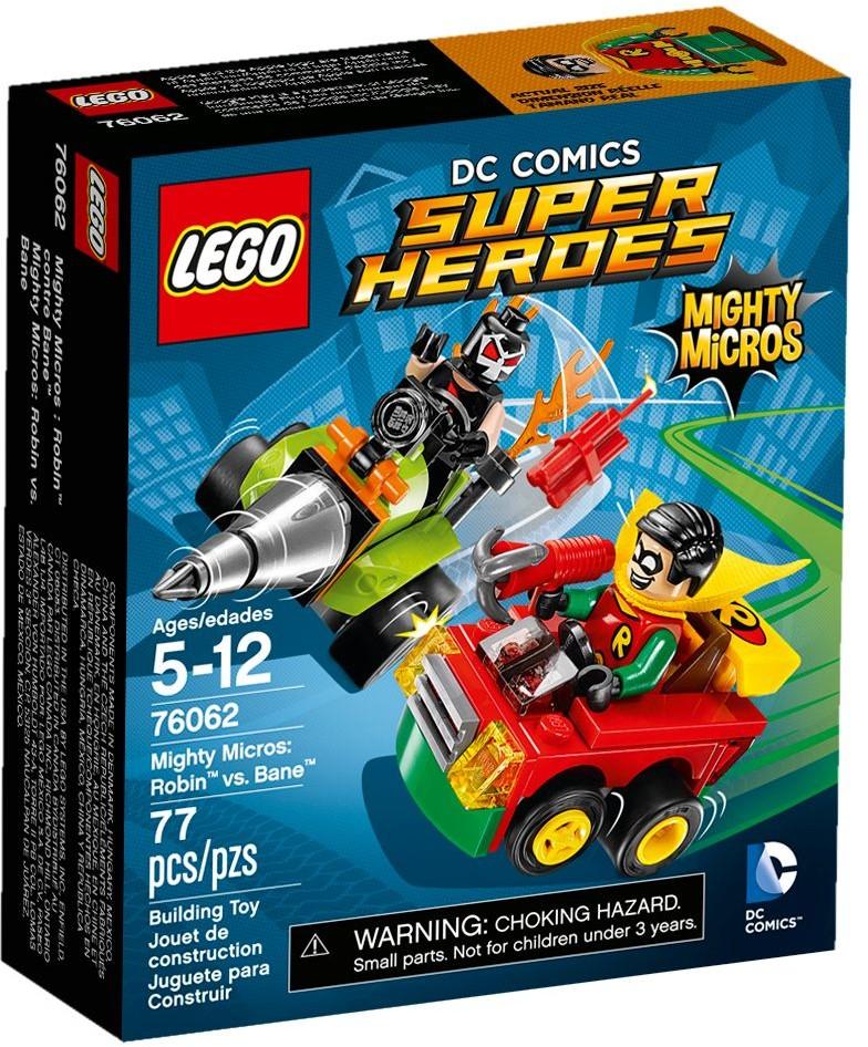 LEGO # 76062 DC COMICS SUPER HEROES  Mighty Micros: Robin vs. Bane