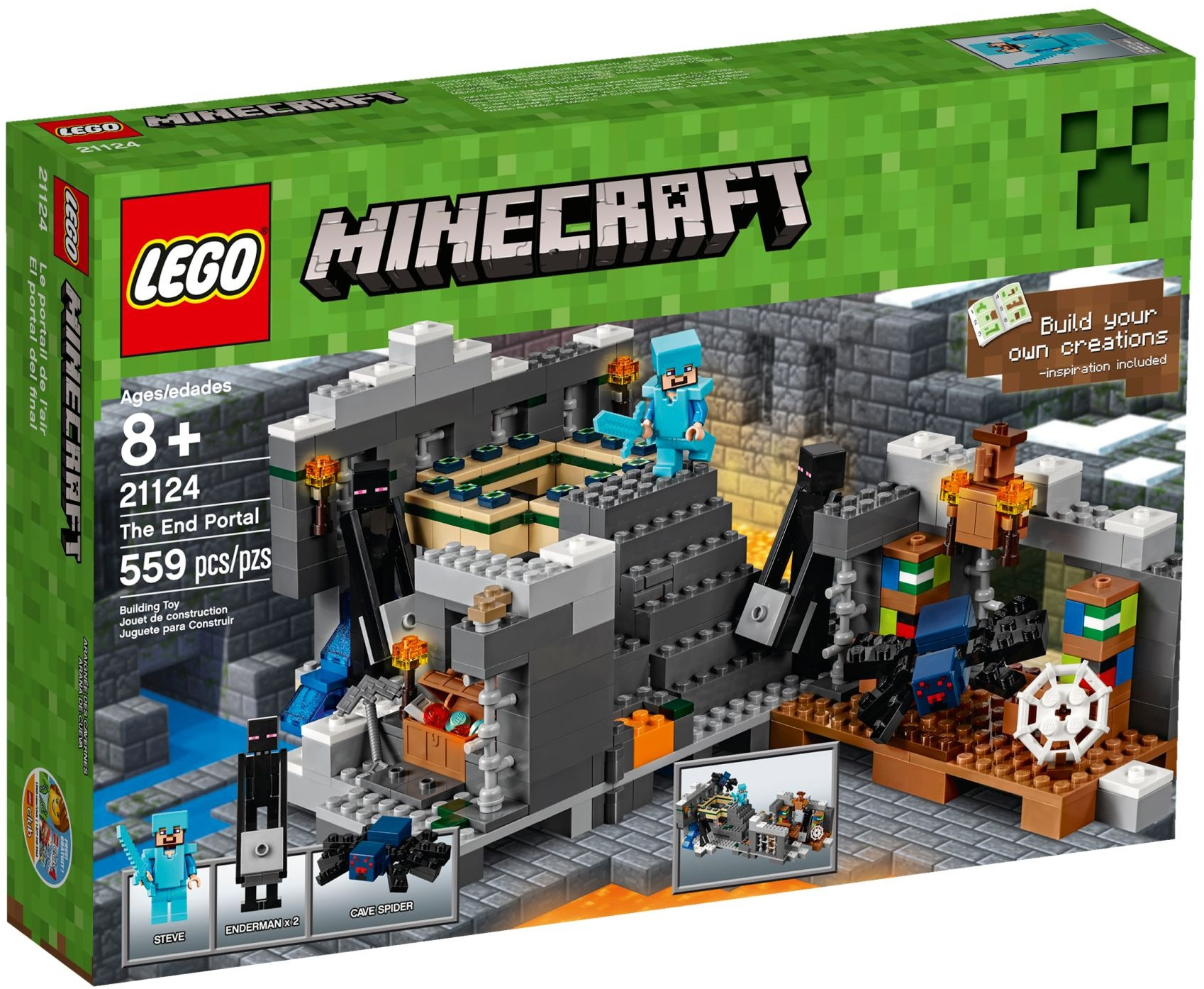LEGO # 21124 MINECRAFT  The End Portal