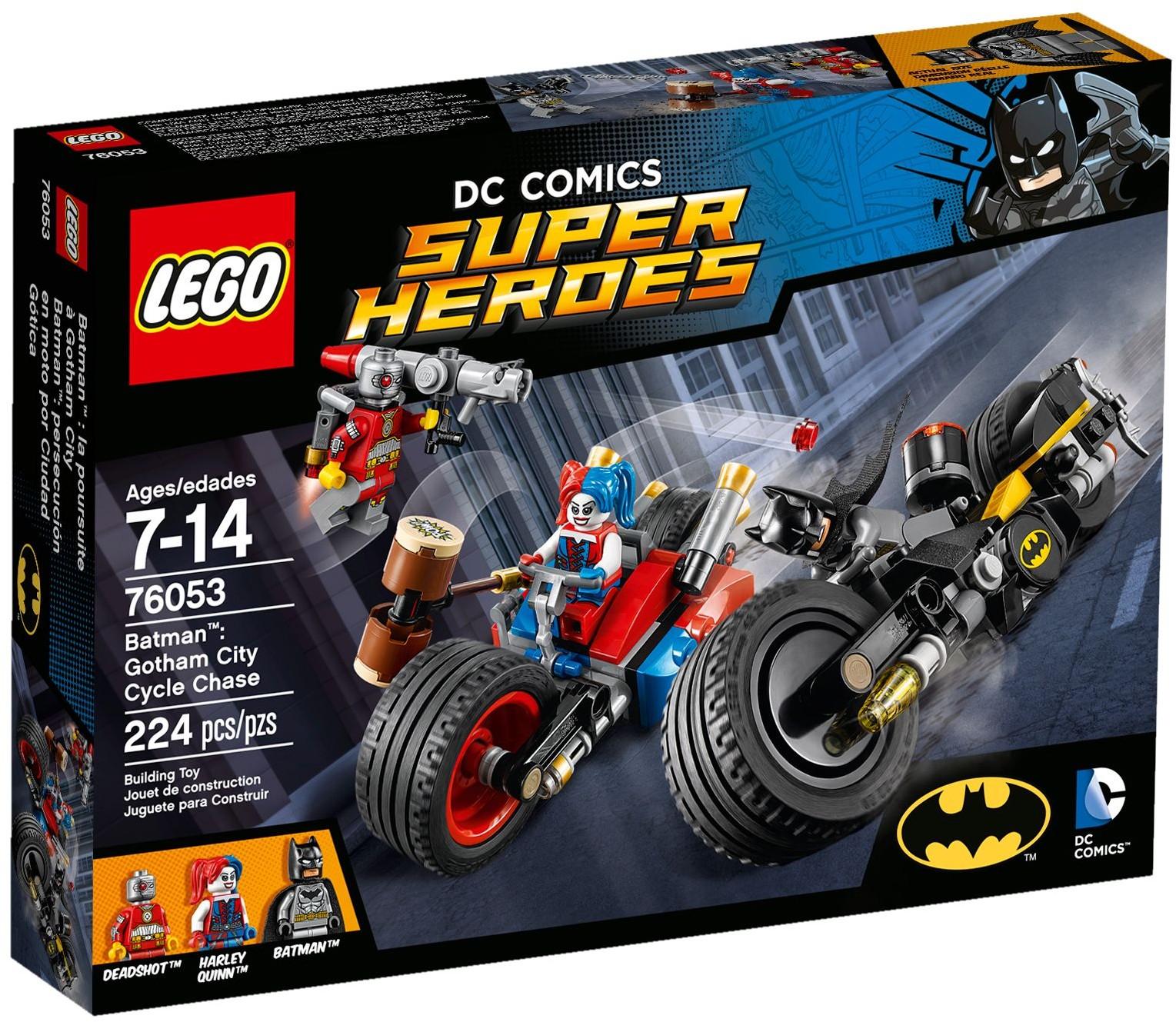 LEGO 76053 DC SUPER HEROES  Batman: Gotham City Cycle Chase