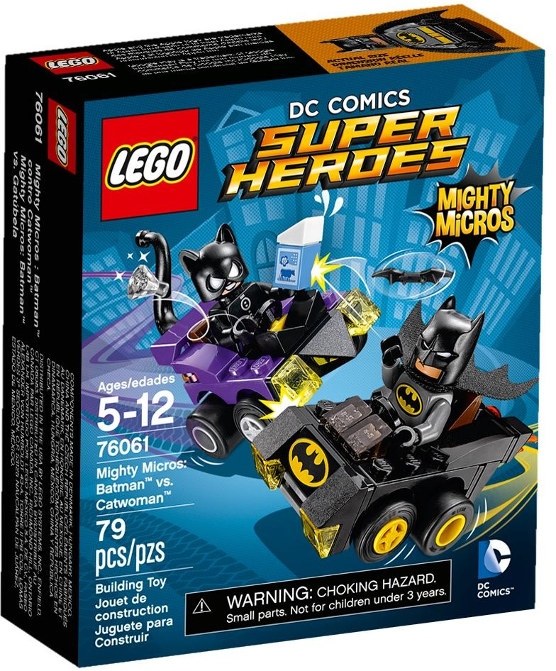 LEGO # 76061 DC UNIVERSE  Mighty Micros: Batman vs. Catwoman