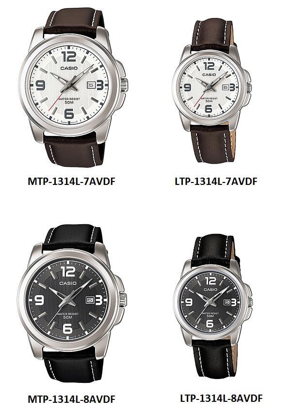 casio ltp 1314L-7 jam tangan wanita original garansi 1 tahun murah