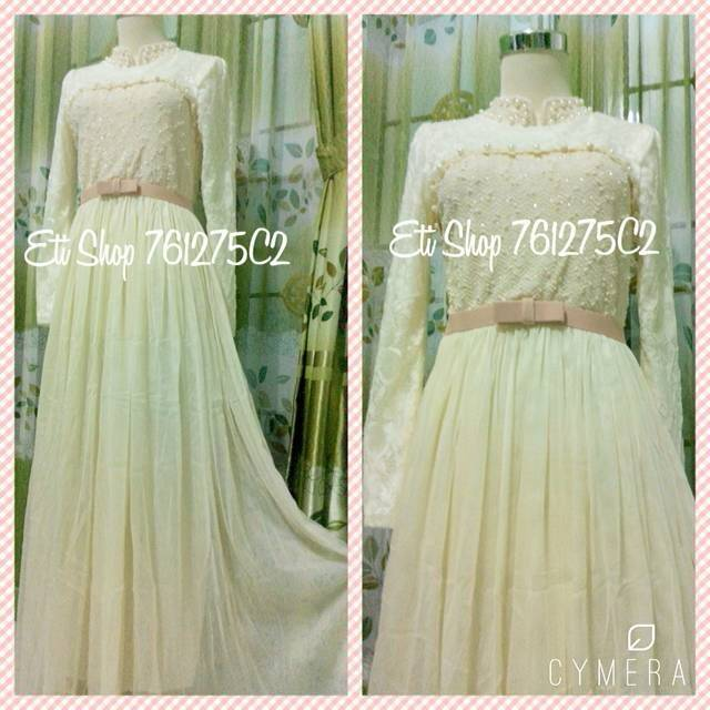 Dress/Longdress/Baju/Gamis/Gaun/Tile/Tutu/Brukat Pesta