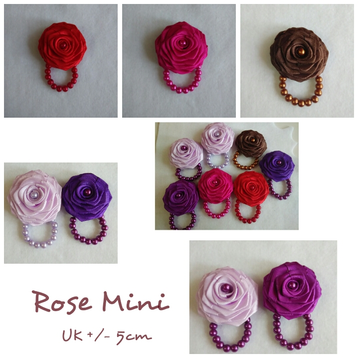 Rose mini / Bross hijab / handmate