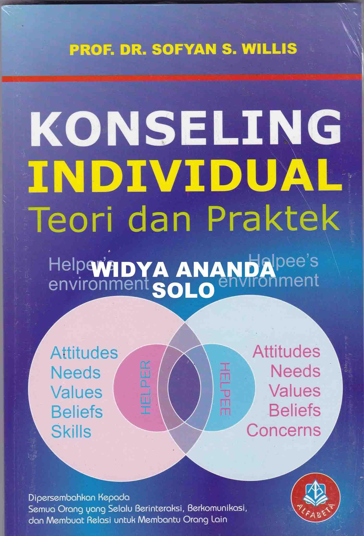 Konseling Individual teori dan praktek