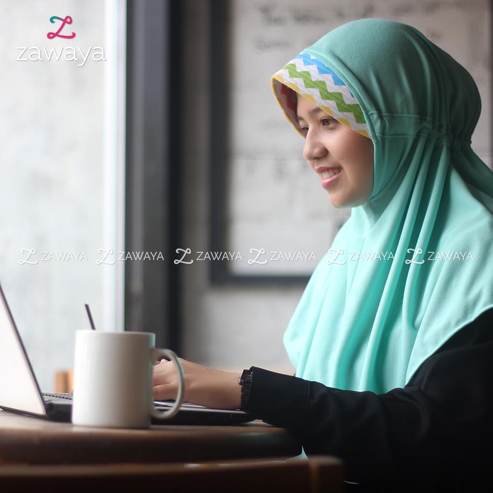 Hijab Zawaya - Bergo Khadijah XS