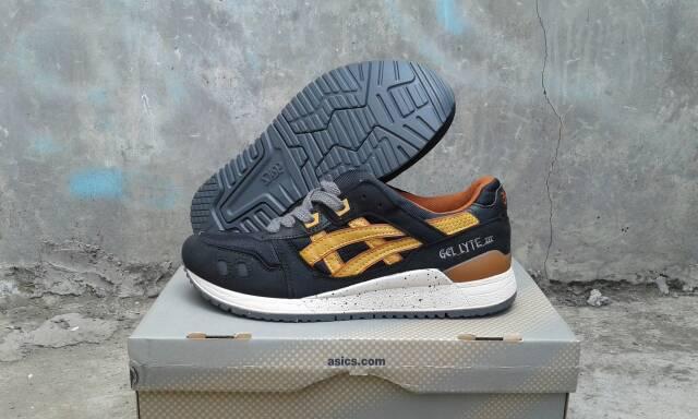 wholesale sepatu asics gel lyte iii black tan bukan lyte v saga 395b9 80f50 99ee8d41ed