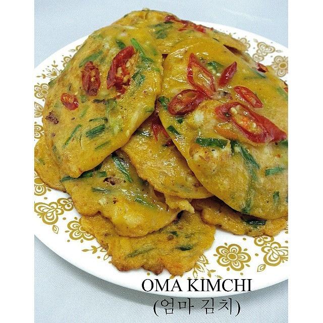 how to make korean seafood pancake