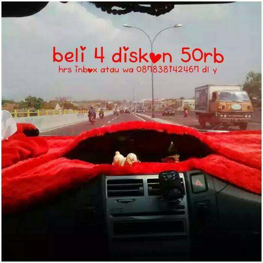 Harga BULU PELINDUNG DASHBOARD CORAK ALAS foto MOBIL WARNA HOLDER ANTI SLIP