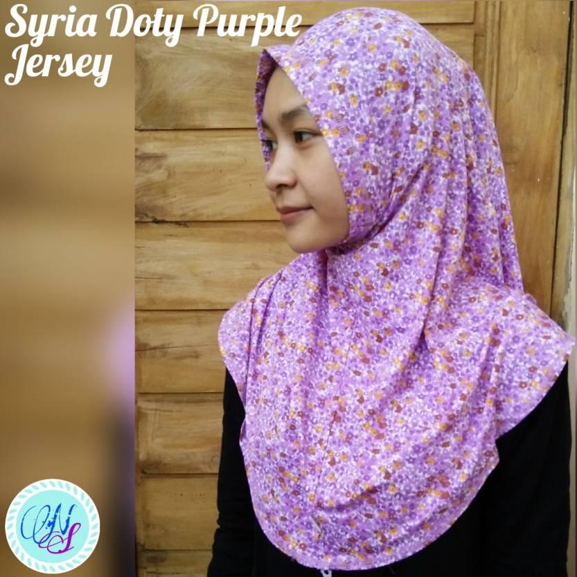 Syria Instan Doty Jilbab Hijab Bergo Jersey