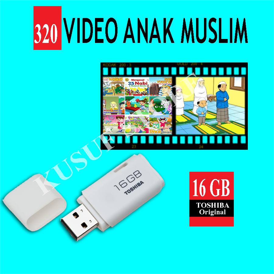 Jual Flashdisk Video Animasi Anak Muslim 16 Gb Kusuf Store Di Edukasi