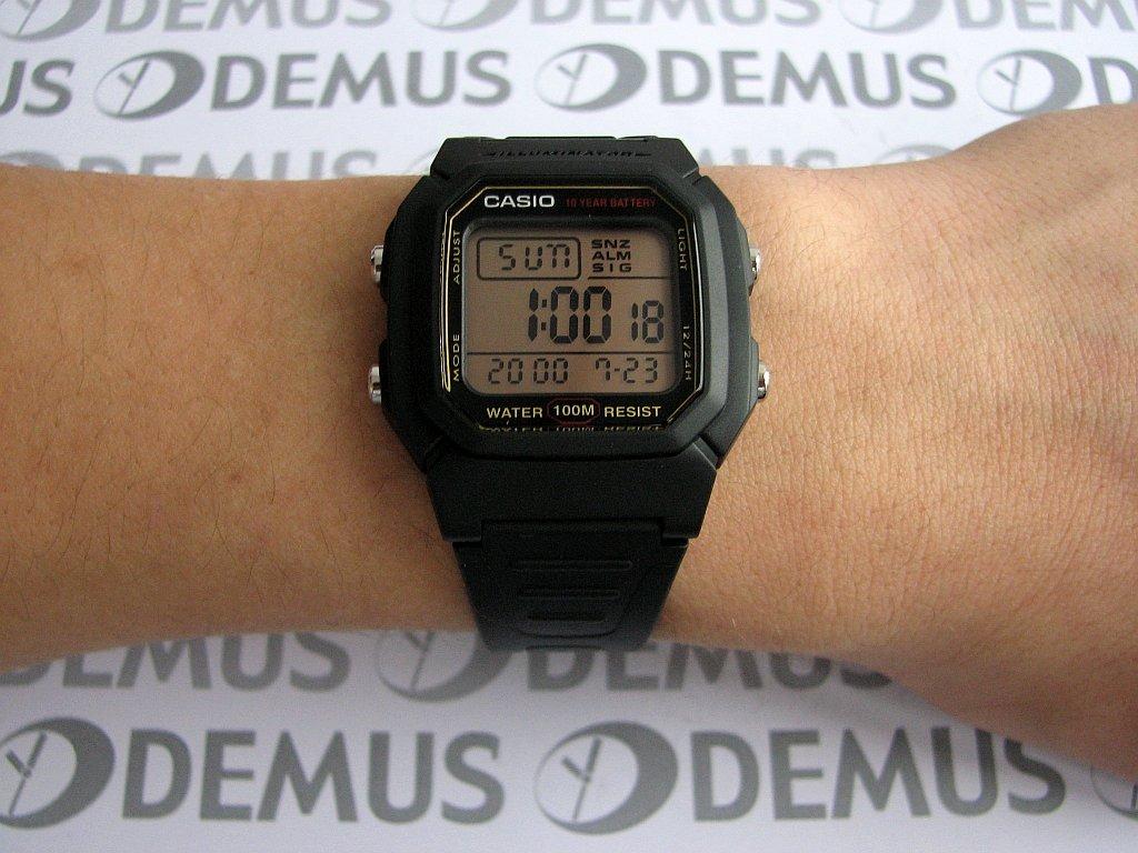 Jam Tangan Casio Original W-800 Pria Sport Casio Jam Tangan Digital