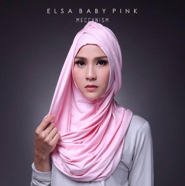 elsa hijab Spandek / kerudung instan / grosir kerudung