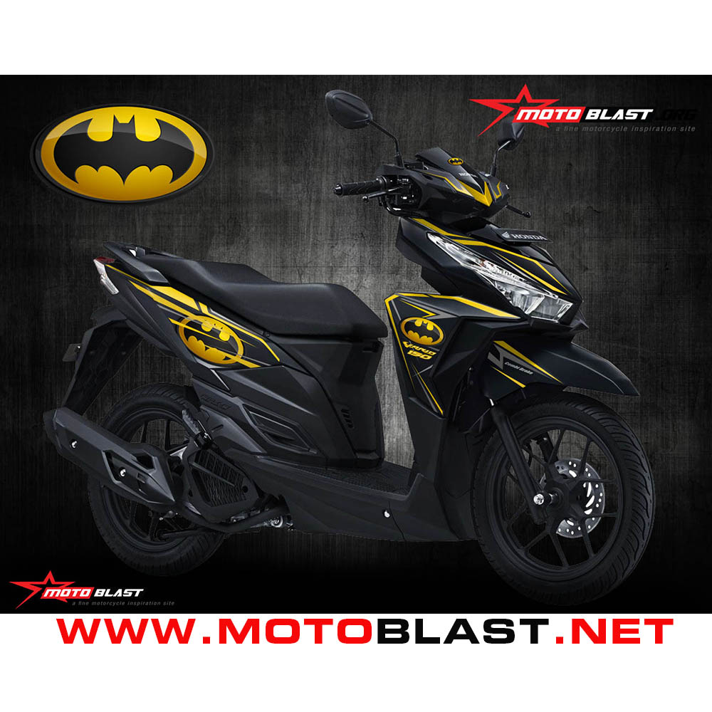 Jual decal sticker fullbody vario 150 esp batman motoblast lapak