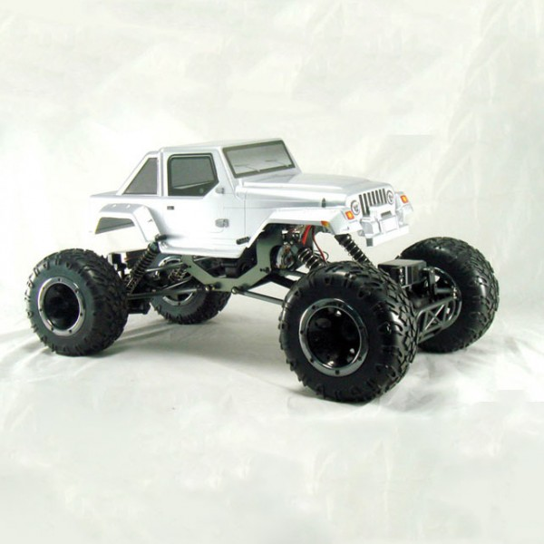 HSP Pangolin Metal Shaft Version 2.4Ghz 4WD RTR (Body Jeep Silver)