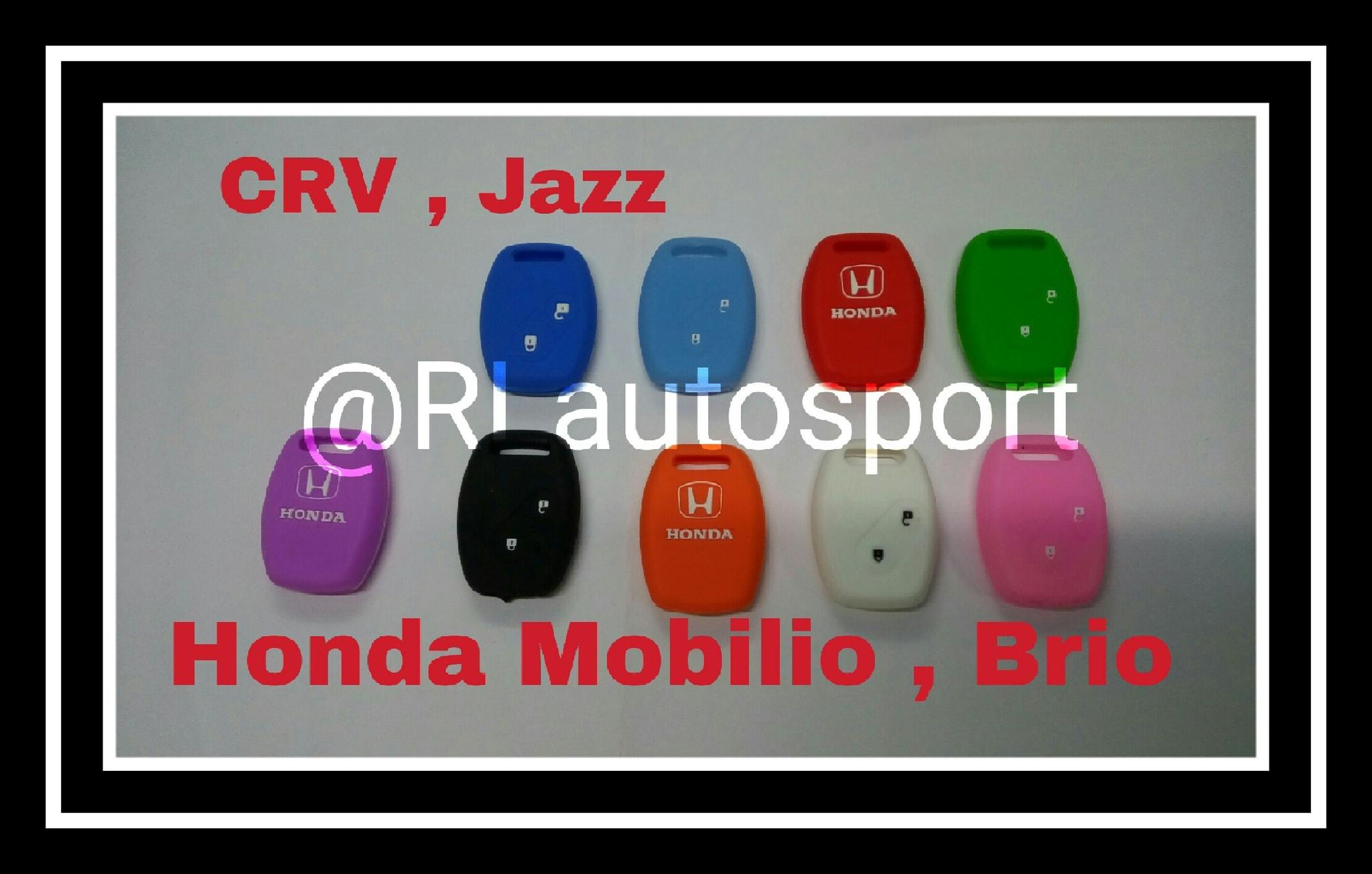 Kondom kunci casing remote silikon Honda CRV, Jazz, Mobilio , dan Brio