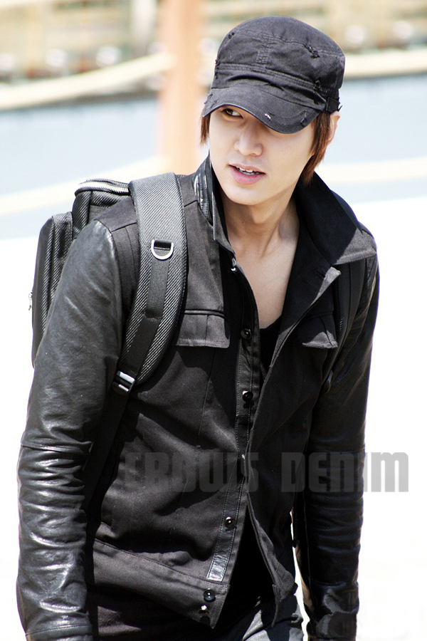 Jual Crows Denim - Black Jacket Comby Leather Lee Min Ho - Crows ... 96ff380947