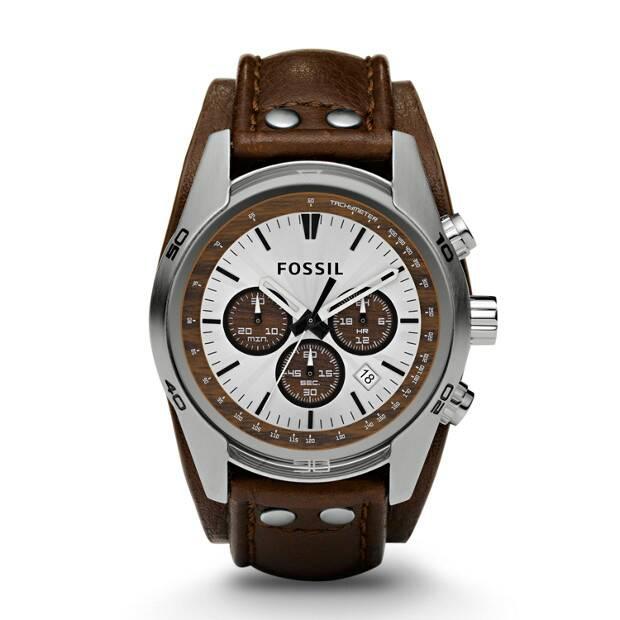 Fossil CH2565 - jam tangan original pria / laki-laki / cowok