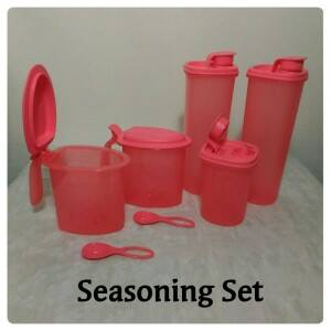 Tupperware Seasoning Set (promo)