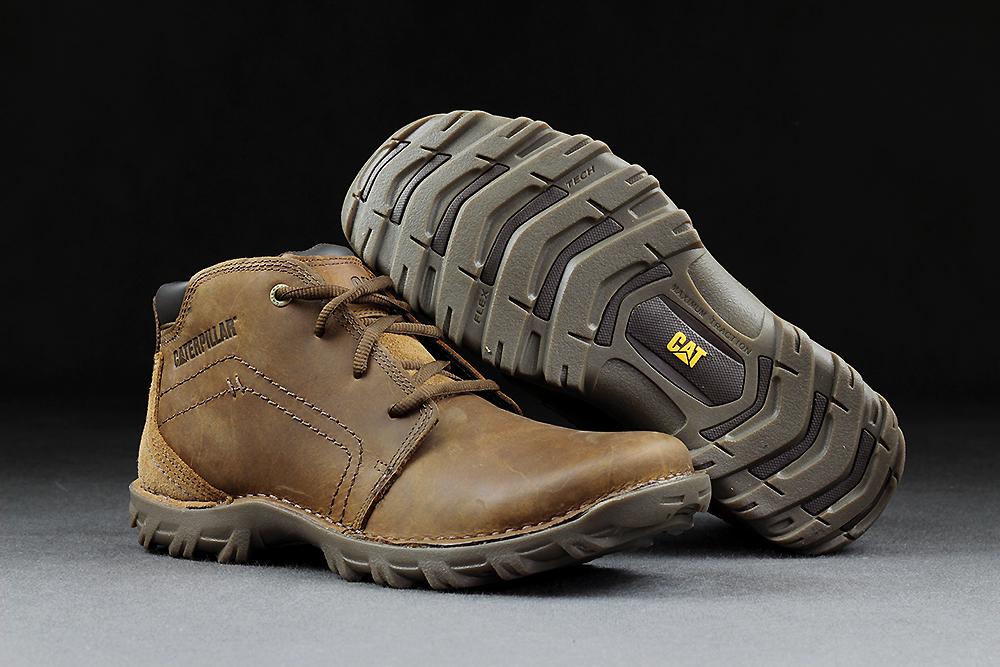 Jual Sepatu Safety Caterpillar Transform Dark Beige