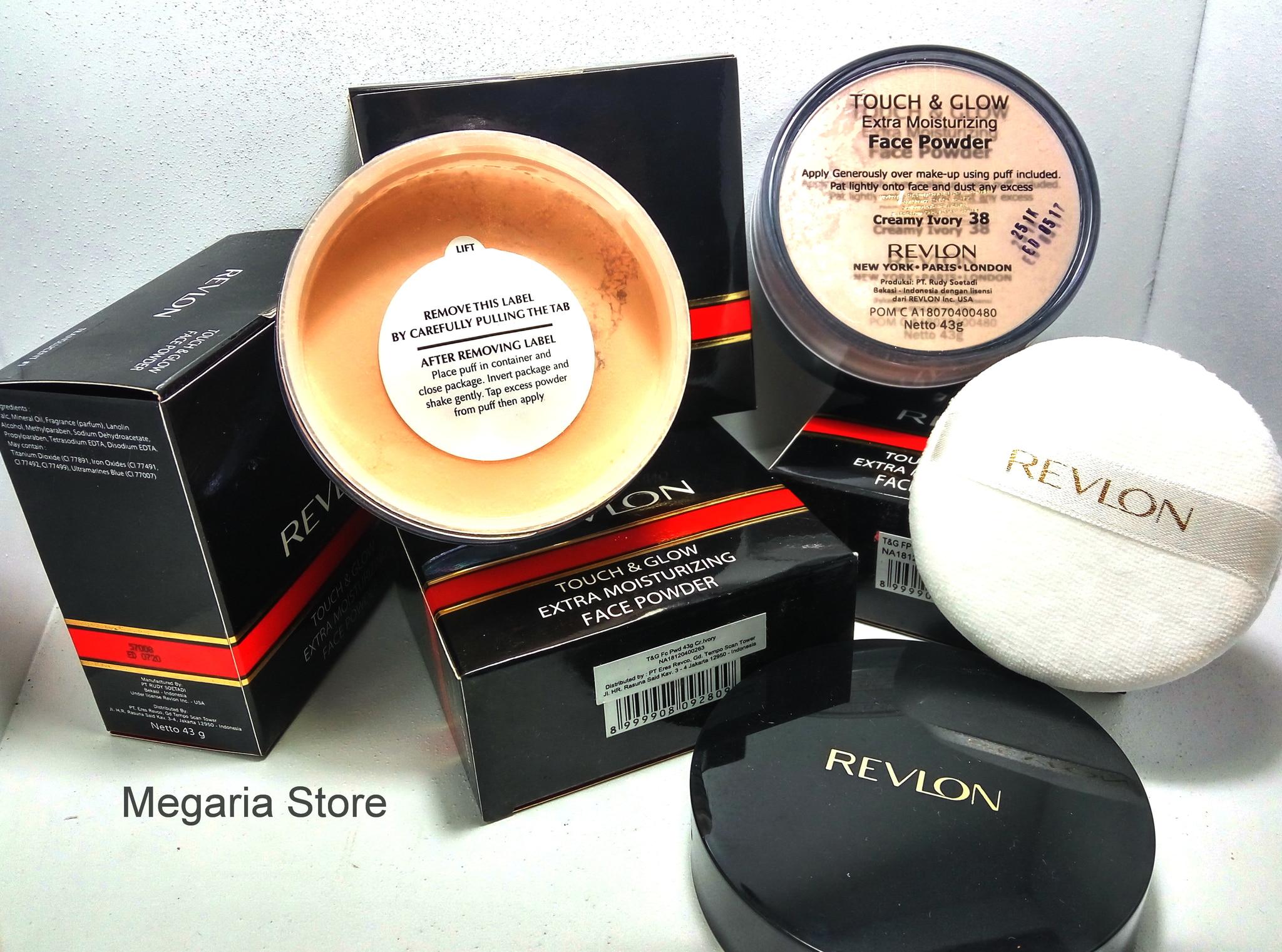 Jual Revlon Touch Glow Moisturizing Face Powder 43gr And 43 Gr Megaria Store Tokopedia