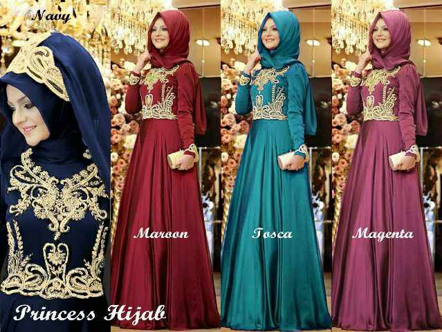 princes hijab / india / dress pesta/dress india/ gown pesta
