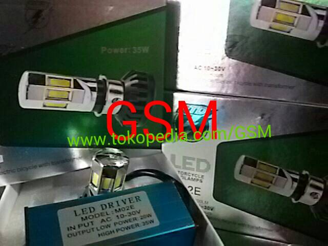 Harga LAMPU UTAMA RTD LED 6 SISI AC DC  PNP COCOKSEMUA UNIVERSAL MOTOR MOBIL