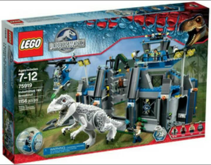 лего динозавры мир юрского периода игра видео