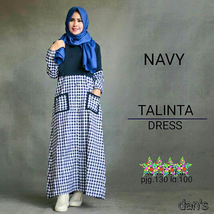 GROSIR  BAJU HIJAB  : TALINTA DRESS